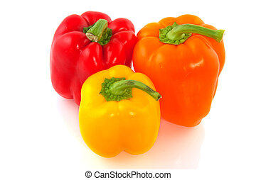 paprika mix in red yellow and orange
