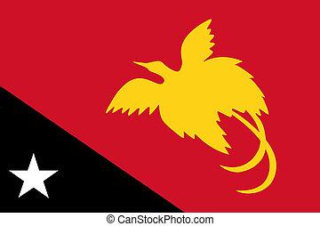 Papua New Guinea Flag