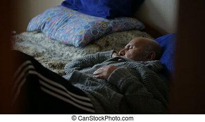 papy, dormir