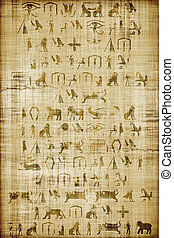 papyrus - An image of an Egypt papyrus background