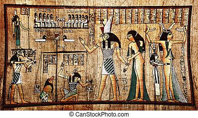 papyrus, egyptisch
