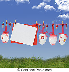 paques, carte