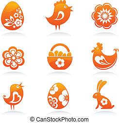 Paques, icônes