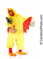 paques, poulet