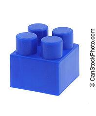 paquet bleu, bâtiment