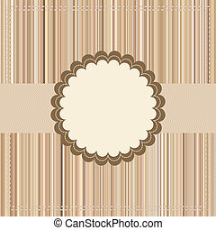 paquet, vendange, eps, 8, ou, carte, design.