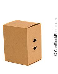 paquete, caja de papel