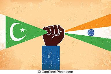 paquistão, unidade, índia