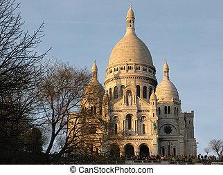 parís, basílica, sacre-coeur