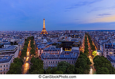 parís, cityscape, francia