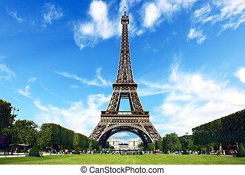parís, la torre eiffel