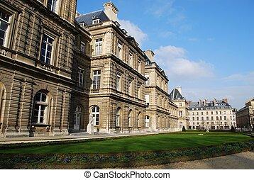 parís, palacio, luxemburgo