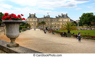 parís, (palais, -, luxembourg), francia, du