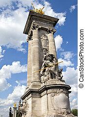 parís, pont, iii, alexandre