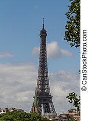 parís, torre, eiffel