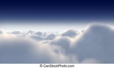 par, 022, nuages, vol, hd