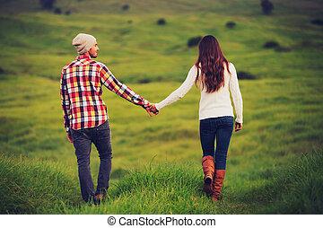 par, amor, jovem