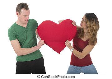 par, Amor, luta