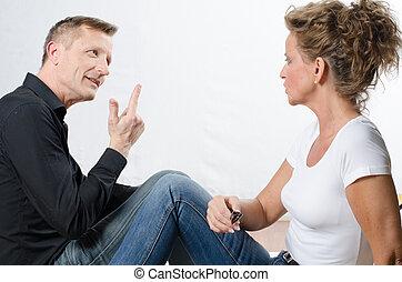 par, argumentar