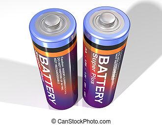 par, baterías