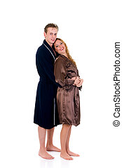 par, bathrobe