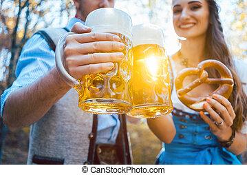 par, bayern, öl, rosta