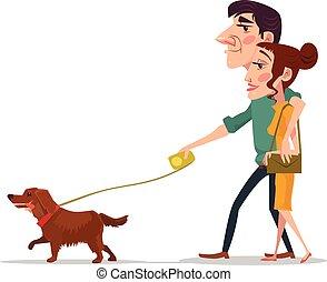 par, cão