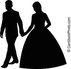 par, casado, apenas