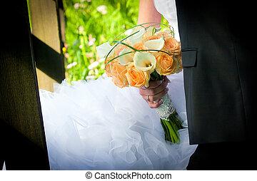 par casado, jovem