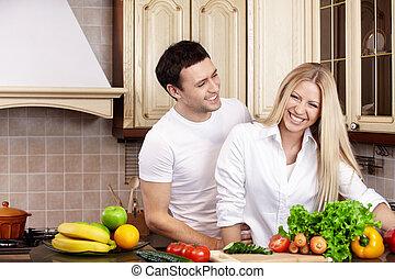 par, cozinha