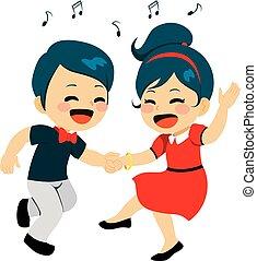 par dançando