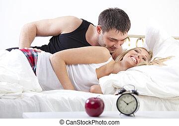 par en cama