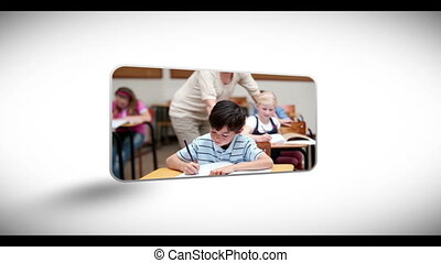 par, enfants, s, education, en mouvement