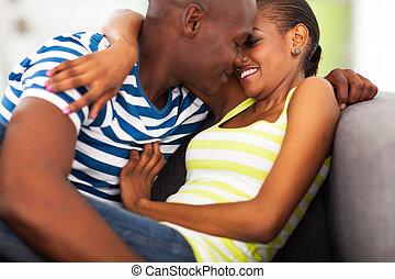 par, flertar, africano
