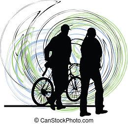par, ilustração