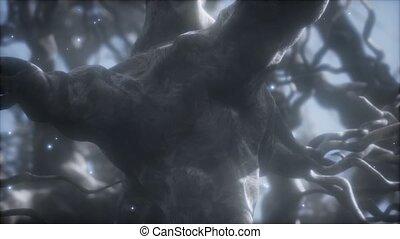 par, intérieur, réseau, neurone, cerveau, cellule, voyage