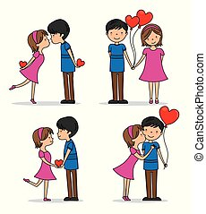 par, jogo, amor
