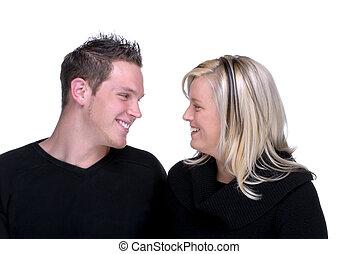 par, jovem