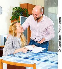 par, læsning, forsikring, kontrakt