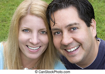 par, lycklig