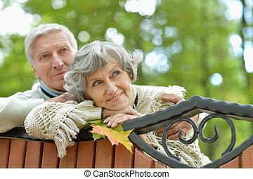 par, maduras, ao ar livre