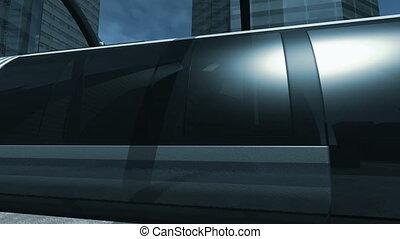 par, monorail, 4k, station, cavalcade
