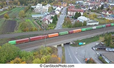 par, oberhausen, fret, banlieues, train, vert, passes,...