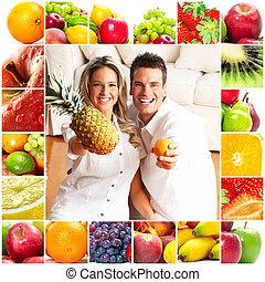 par, och, frukter