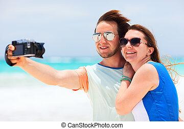 par, på semester