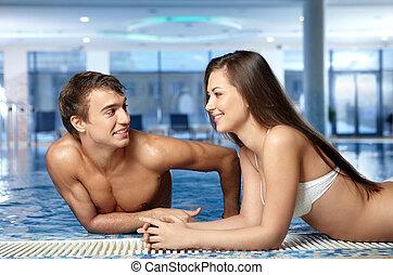 par, piscina