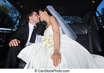 par, recém casado