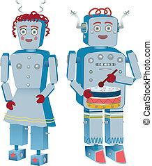 par, robô