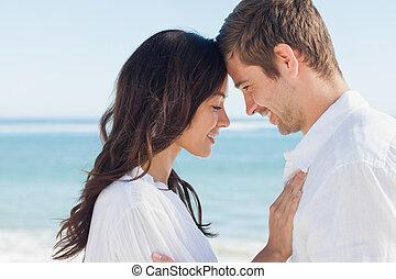 par, romanticos, relaxante