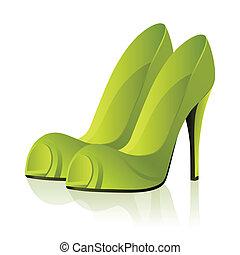 par, shoes, imaginación